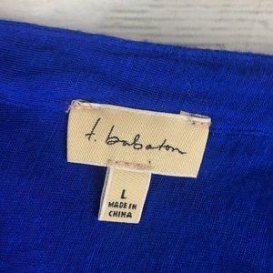 Aritzia Tops - Aritzia Babaton Cobalt Blue Thom Popover T-shirt L